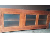 Solid Oak Sideboard/ Cabinet