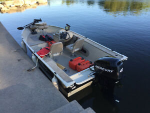 2007 16' Fishing Boat Package - Very Low Time