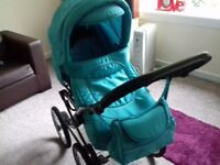 Pram 3in1 + car seat in good condition