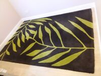 Beautiful statement rug 100% wool