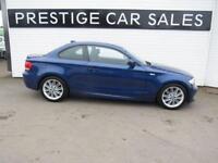 BMW 1 SERIES 2.0 118D M SPORT 2d 141 BHP (blue) 2013