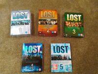 Lost DVD bundle 5 seasons