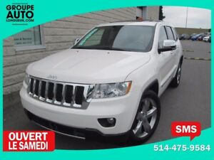 2012 Jeep Grand Cherokee OVERLAND*4X4*CUIR TOIT*NAVIGATION*8 ROU