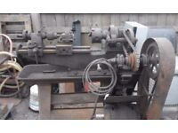 metal lathe .240 volt.all tools.good working order