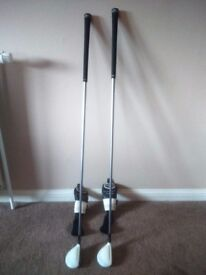 Two.super s adams hybird clubs for sale in great condition,looking for 50 pounds for the pair