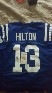 T.Y. Hilton Autographed Jersey