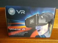 GOJI Universal VR Virtual Reality Headset for Apple and Android Devices- brand new in box and sealed