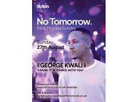 No Tomorrow feat. George Kwali