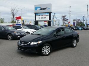 2013 Honda Civic ONLY $19 DOWN $44/WKLY!!