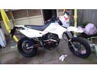 Lexmoto adrenaline 125. 15plate, 1 owner, loads of spare parts £900 ono