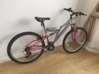 Ladies adults mountain bike