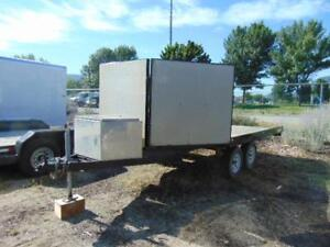 2012 BC Built 8.5 X 13 V-Nose Toy Hauler w. Large Tool Box