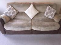 SCS 3&2 Seater recliner sofas suite