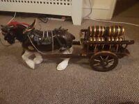 China horse and cart