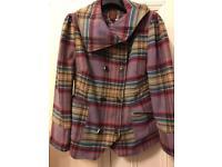 Ladies wooden coat
