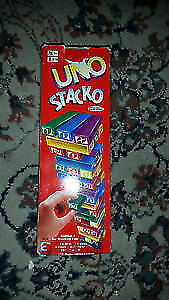 UNO STACK GAME FOR SALE!