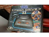 Sega megadrive 2 with 19 games Includes postage