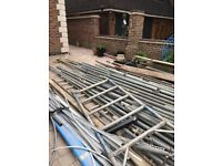 Scaffolding with all Clips, Bolts and Ply boards