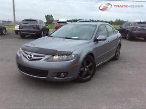2006 Mazda6, TT EQUIPEE, CUIR, TOIT, MAGS, ECONOMIQUE 4 CYL