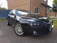 Alfa 159 1.8 MPI, Black, MOT, Leathers FSH Hpi clear. Stunning!!