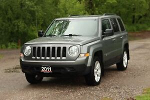 2011 Jeep Patriot Sport/North | 4x4 | ONLY 57K | CERTIFIED