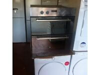 Double oven electric Built In warranty included SALE ON SPECIAL OFFER ON £99 warranty included SALE