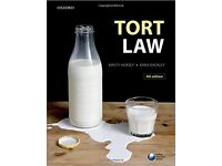 Tort Law 4th Edition Kirsty Horsey and Erika Rackley