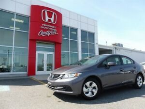 2015 Honda Civic Sedan LX *** À partir de 65.06$ par semaine