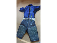 HELLY HANSEN Shorty Professional Padded Wetsuit Wet Suit XL Diver Surfer Sailing RRP£140
