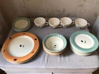 Fresco by Poole Pottery Dining Set