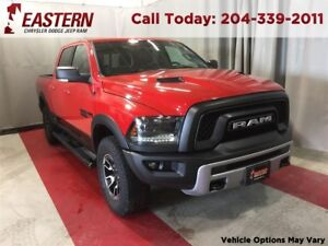 2015 Ram 1500 REBEL 5.7 HEMI 4 -CORNER AIR 5.0 UCONNECT HEAT SEA