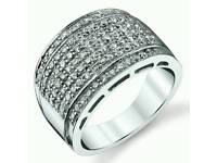 Men's Wedding Band Engagement Ring