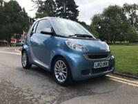 2012 Smart Fortwo Coupe Passion mhd 2dr Softouch Auto [2010] 2 door Coupe