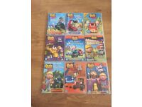 9 Bob the builder dvds