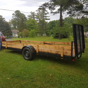 16 foot atv / utility trailer