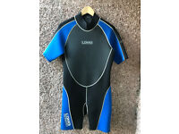 LOMO Mens Shortie Wetsuit As New