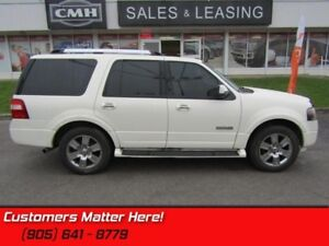 2007 Ford Expedition Limited  4WD, 7 PASSENGER, LEATHER, SUNROOF