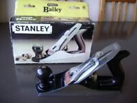 STANLEY BAILEY No 4 smoothing bench plane boxed wood working joiner carpentry