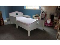 GLTC toddler bed (matching dolls house bookcase can be included in addition if wanted)