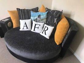 DFS Audio Cuddler Sofa
