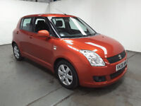 2008(08)SUZUKI SWIFT 1.3 DDiS MET ORANGE,£30 TAX,BIG MPG,CLEAN CAR,GREAT VALUE