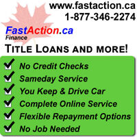 Instant Cash on a Car Title Loan–Complete Loan Process Online