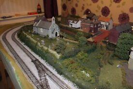 8 foot x 4 foot Model railway layout