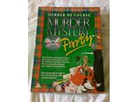 Used, Murder of Course Murder Mystery Party Game With DVD And CD. Complete. for sale  Dorset