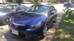 09 Mazda 3 low kms safetied and etested