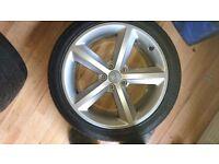 Audi a4 b8/8.5 sline alloy wheels