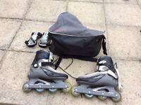 Men's decathlon rollerblades size 8