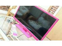 "23"" Pink LED TV + DVD"