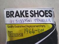 Classic brake shoes Mini and Traveler
