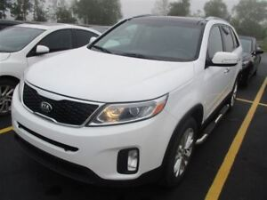 2014 Kia Sorento EX! LEATHER! PANORAMIC SUNROOF! $66/WK, 4.74% Z